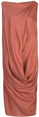 Rick Owens Ellipse midi dress
