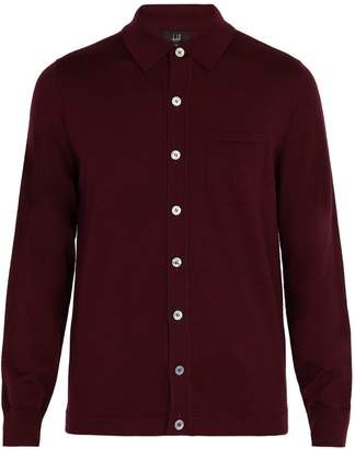 Dunhill Patch-pocket wool cardigan
