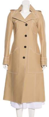 Derek Lam Notch-Lapel Long Coat w/ Tags