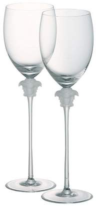 Versace Two-Piece Medusa Lumiere Water Goblets