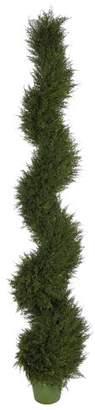Three Posts Floor Juniper Topiary in Pot