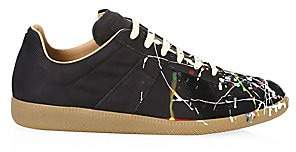 Maison Margiela Men's Replica Painter Leather Sneakers