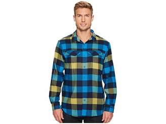 Columbia Silver Ridge Flannel Long Sleeve Shirt Men's Long Sleeve Button Up