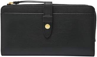 Fossil Fiona Leather Tab Clutch