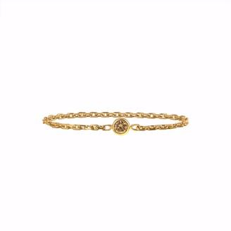 Irena Chmura Jewellery Stormy Diamond & Chain Ring