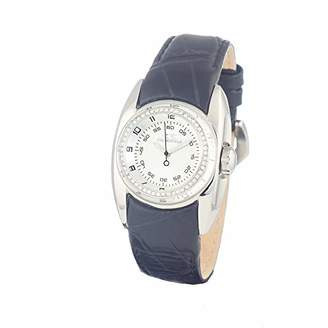 Chronotech Womens Analogue Quartz Watch with Leather Strap CT7704LS-02