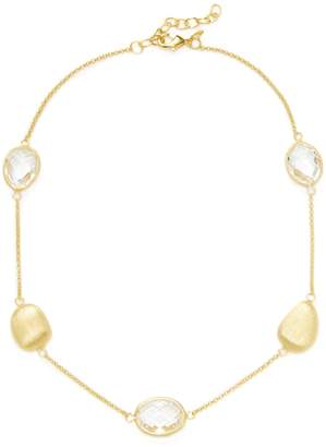 Rivka Friedman Women's Rock Crystal & Pebble Station Necklace