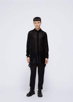 Ann Demeulemeester Harlot Brushed Velvet Shirt