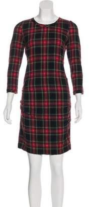 Etoile Isabel Marant Virgin Wool-Blend Dress