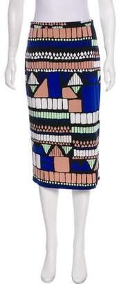 Tibi Knee-Length Knit Skirt