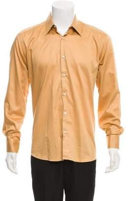 HUGO BOSS Boss by Woven French Cuff Shirt