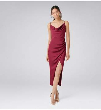 Ever New Holly Cowl Neck Midi Dress