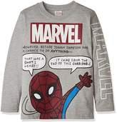 Marvel (マーベル ボーイズ・プリント長袖Tシャツ OTH-537 11 グレー 130