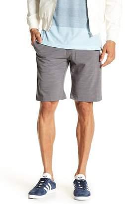 Burnside Hybrid Stripe Stretch Shorts