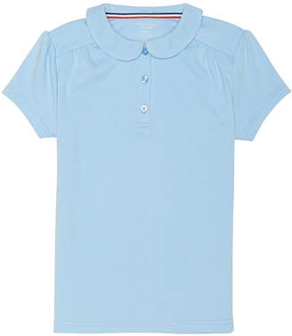 French Toast Short Sleeve Peter Pan Polo - Big Kid Girls