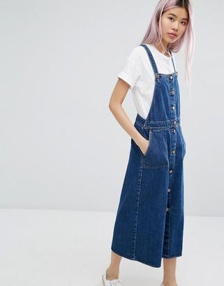 Monki Denim Dress $65 thestylecure.com