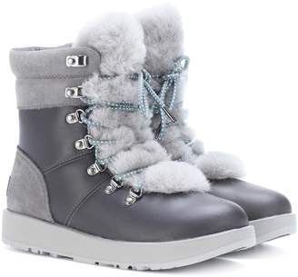9d504850505 Womens Waterproof Leather Boots - ShopStyle UK