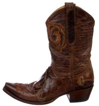 Old Gringo Embroidered Leather Western Boots