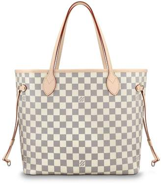 Louis Vuitton Nevefull Damier Azur (Without Pouch) MM Beige Lining