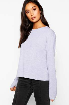 boohoo Basic Cotton Sleeve Cotton T-Shirt