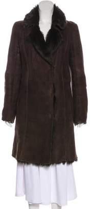 Joseph Shearling Long Coat