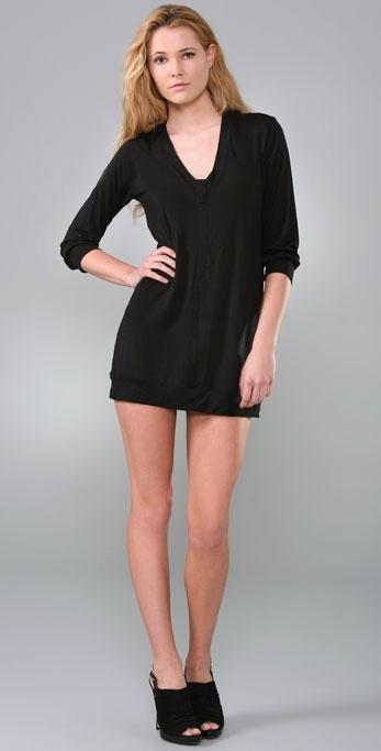 Rachel Pally V Placket Mini Dress