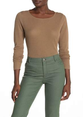 Lafayette 148 New York Scoop Neck Sweater