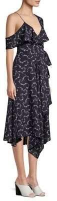 LIKELY Leilani Cold-Shoulder Dress