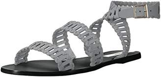 Kaanas Women's JIJOCA Ladder Strap Leather Gladiator Flat Sandal
