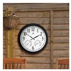 """Co Darby Home Ernesha Oversized 24"""" Definitive Wall Clock"""