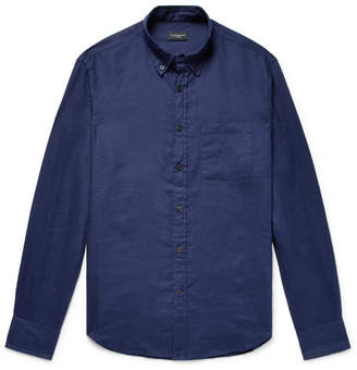 Club Monaco Button-Down Collar Linen Shirt