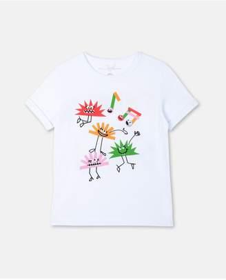 Stella McCartney Hedgehogs Cotton T-Shirt