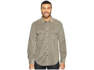 True Grit Softest Sueded Cord Long Sleeve Two-Pocket Shirt Men's Clothing