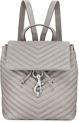 Rebecca Minkoff Edie Quilted Flap Backpack