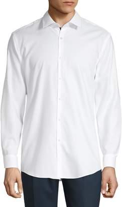 HUGO Long Sleeve Button-Down Dress Shirt