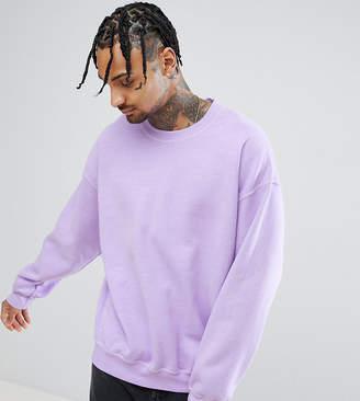 Reclaimed Vintage Inspired Sweatshirt In Lilac