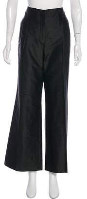 Magaschoni Silk Wide-Leg Pants
