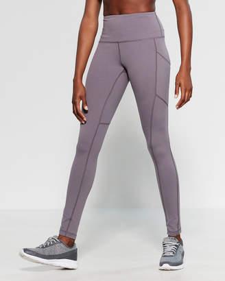 93cfb87fa1 90 Degree By Reflex High-Waisted Side Pocket Full Length Leggings