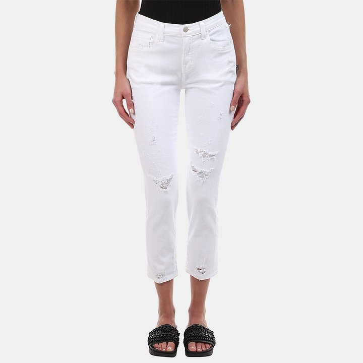 J Brand Sadey Slim Straight Jean in Disconnect