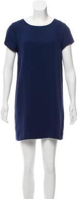 Joie Short Sleeve Silk Dress