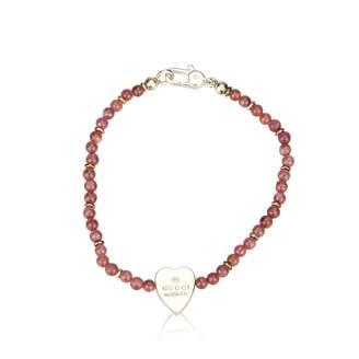 Gucci Red Metal Bracelet