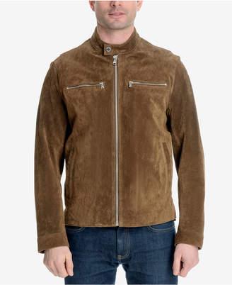 Michael Kors Men's Faux-Suede Moto Jacket
