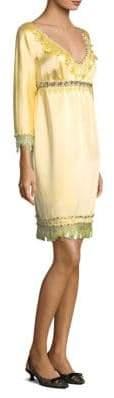 Marc Jacobs Long-Sleeve Empire Waist Dress