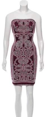 Herve Leger Vivien Bohemian Dress Pink Vivien Bohemian Dress