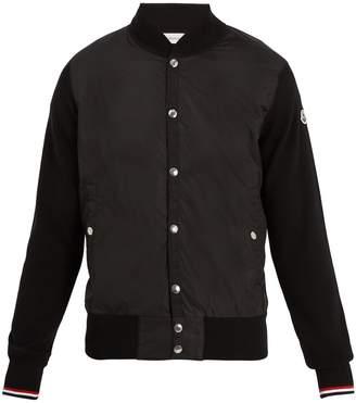 Moncler Contrast-panel bomber jacket