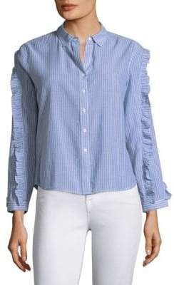 Rails Lizzi Stripe Button-Down Shirt