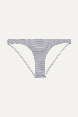 Melissa Odabash St Kitts Striped Bikini Briefs - Navy