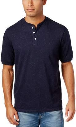Weatherproof Mens Speckled Henley Shirt S