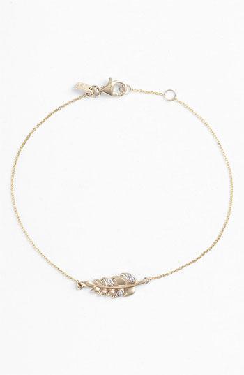 Whitney Stern Leaf Bracelet