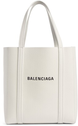 Balenciaga Extra Small Everyday Logo Calfskin Tote